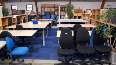 Photo of Brugte kontormøbler til de nye kontorlokaler